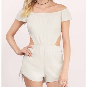 Tobi off the shoulders romper